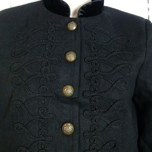 Romeo & Juliet Couture s Military Style Jacket